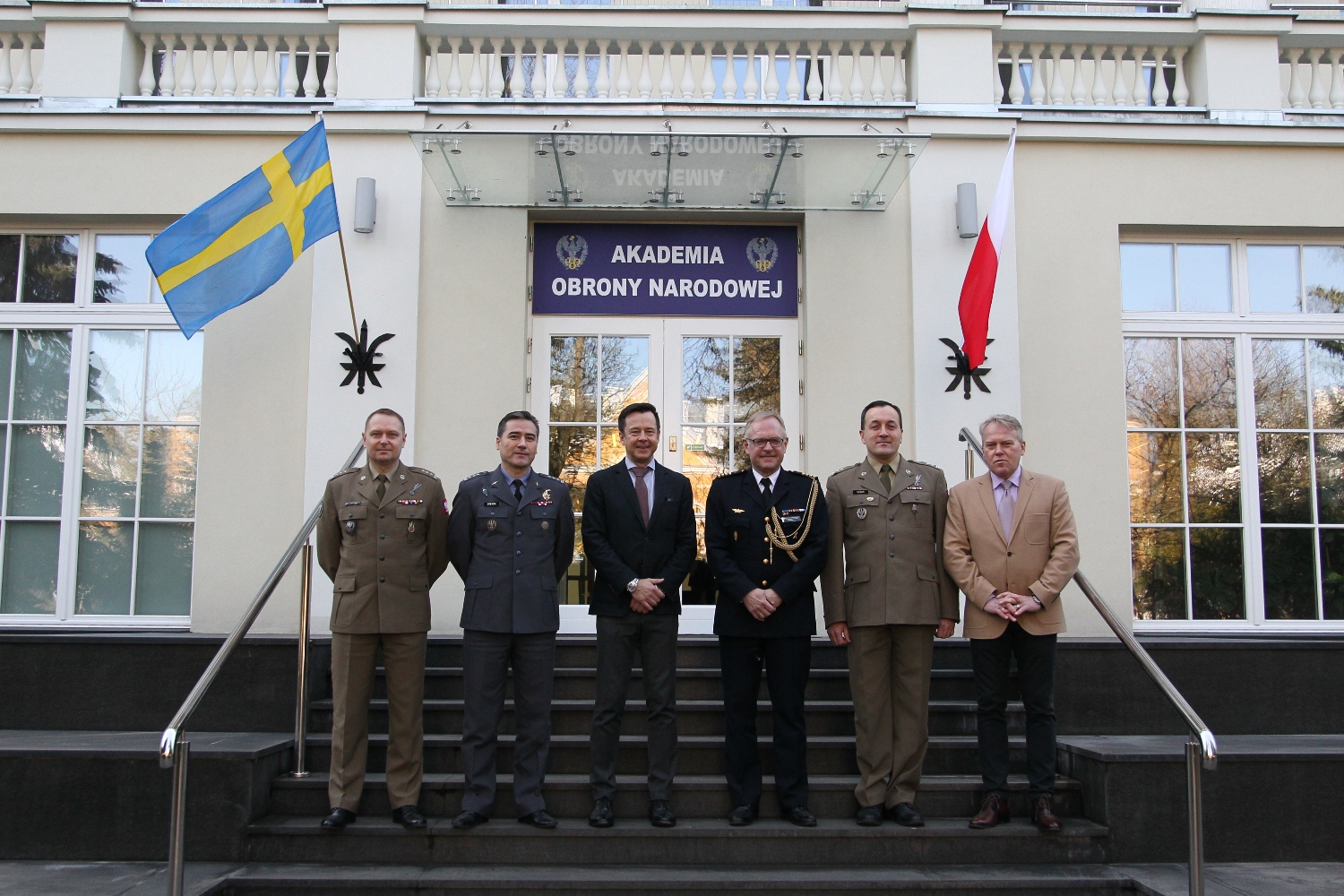 Study visit for the participants of the Stockholm National Defence Academy course on Senior Crisis Management and Total Defence