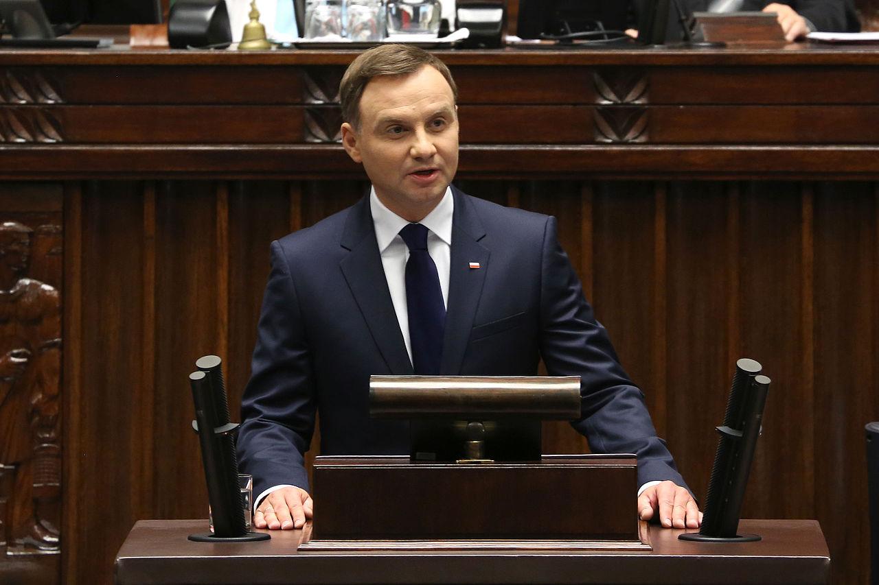 Łukasz Polinceusz owizycie Prezydenta Andrzeja Dudy wUSA wTOK FM