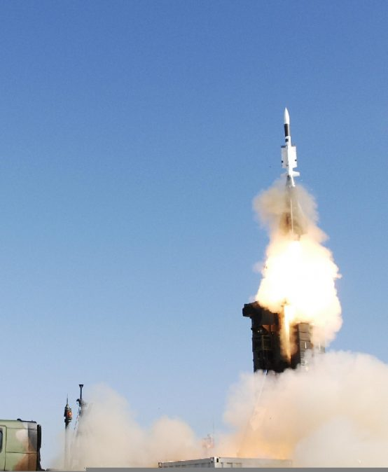 French response to air and ballistic missile threats