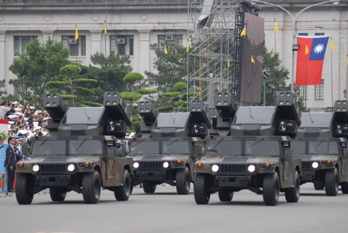 In the shadow of Communistic missiles – Air and Missile Defence in Taiwan