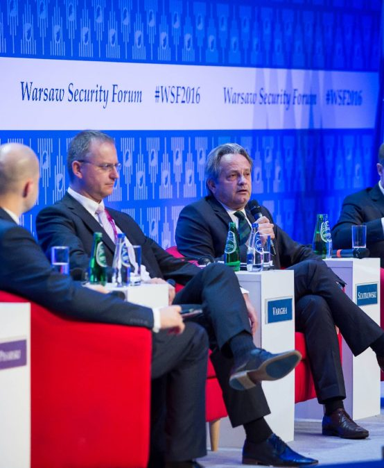 """We want the NATO to adapt toward 360° approach"" – ministers of defence and of foreign affairs about the NATO and international security during the Warsaw Security Forum."