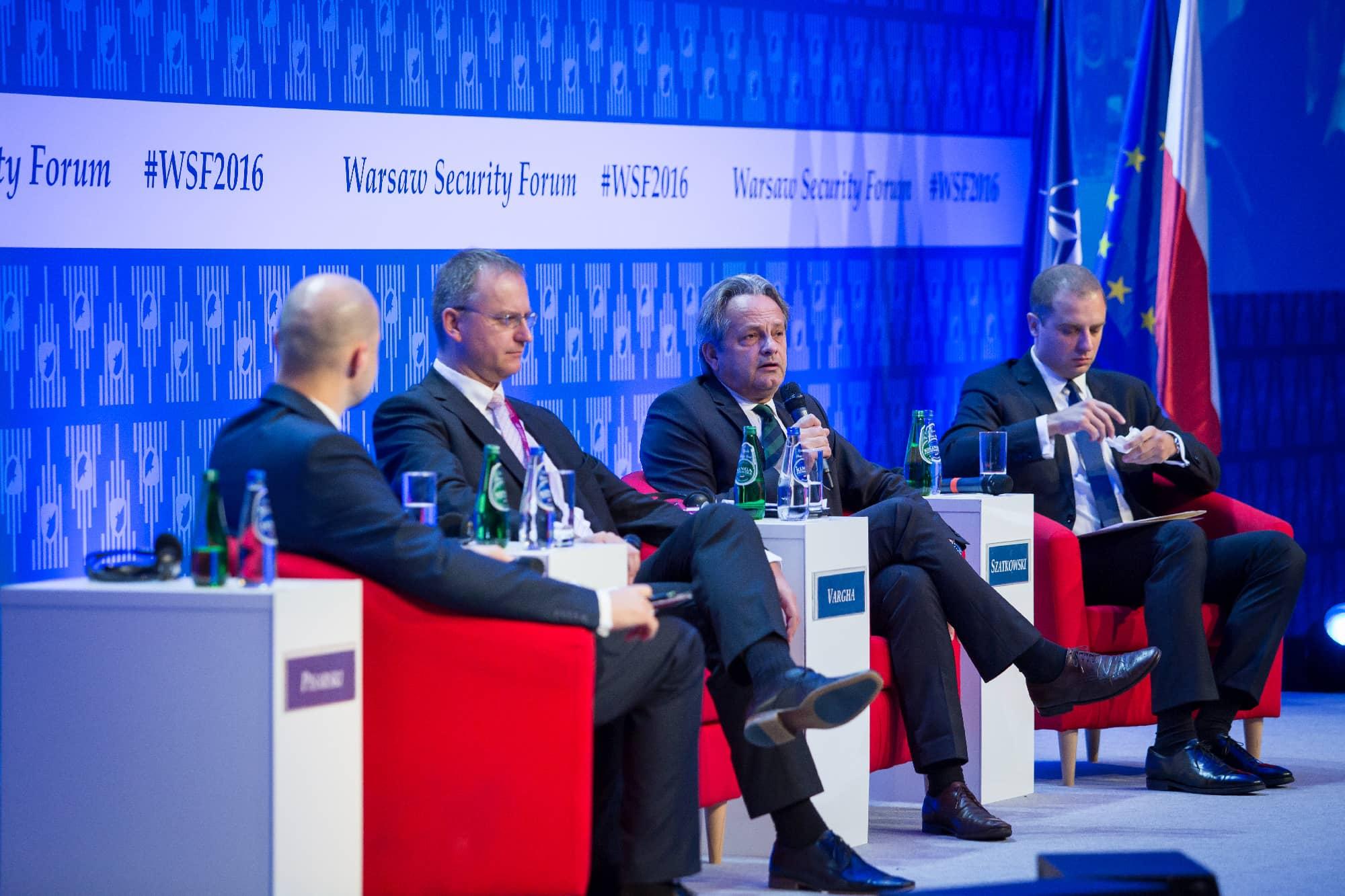 """""""Chcemy, aby NATO adaptowało się wkierunku sojuszu działającego wpromieniu 360 stopni"""" – ministrowie obrony ispraw zagranicznych oNATO ibezpieczeństwie międzynarodowym naWarsaw Security Forum"""