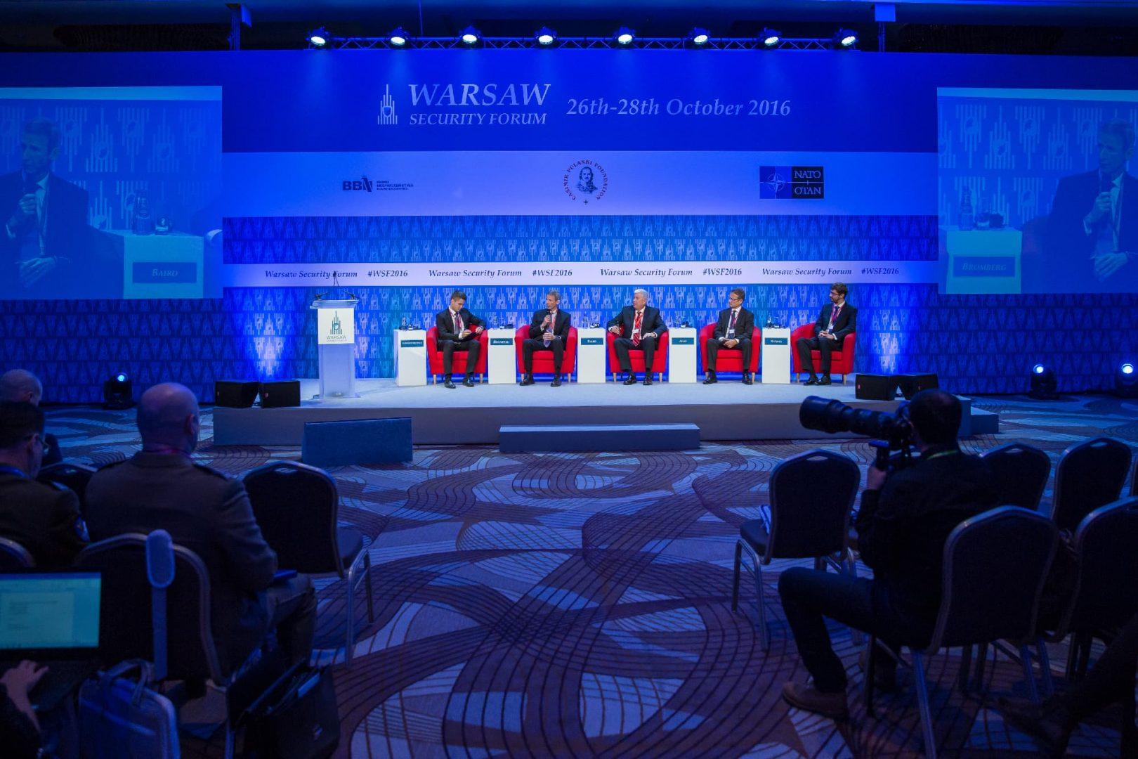 Najnowsze technologie wojskowe iprzemysł zbrojeniowy naWarsaw Security Forum 2016