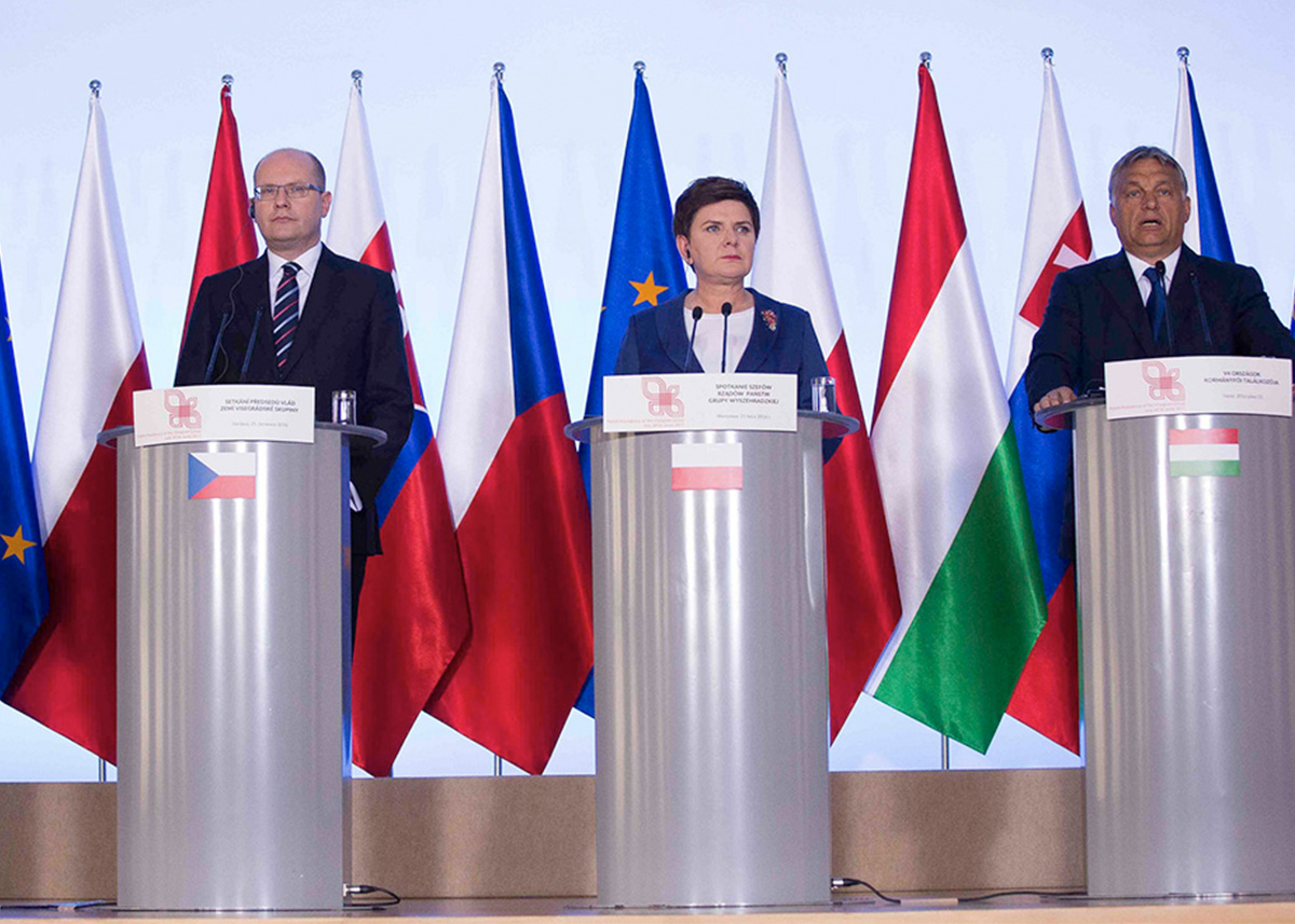 Łukasz Polinceusz owkładzie Grupy Wyszehradzkiej wuniją politykę wJedynce Polskiego Radia