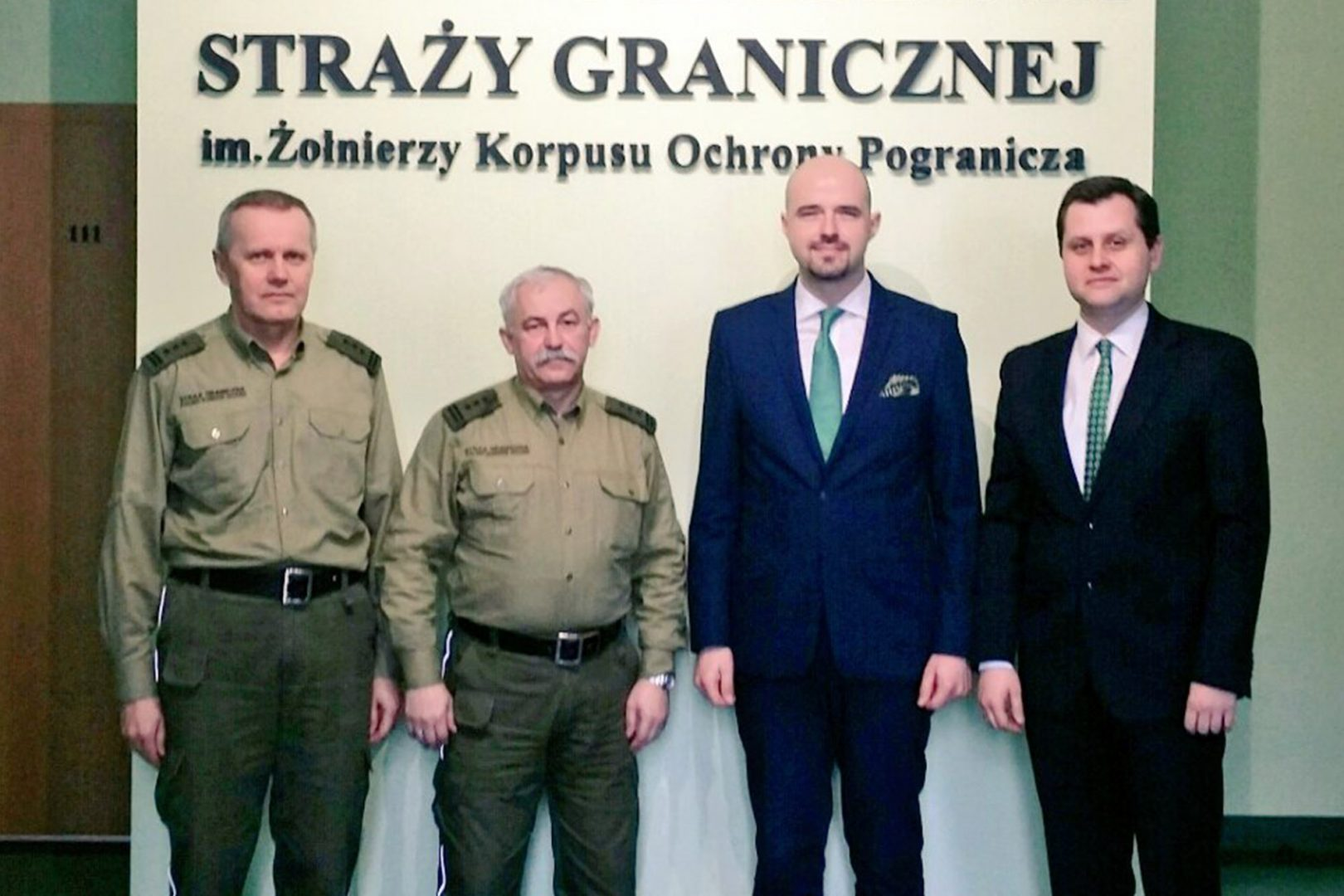 Vital role of the Border Guard in state's security system – Casimir Pulaski Foundation board of directors with visit to Border Guard Training Centre