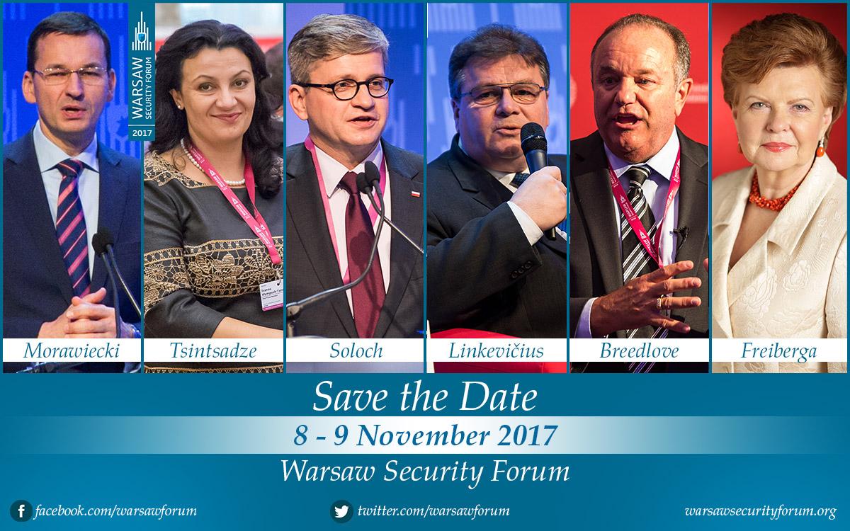 Warsaw Security Forum wdniach 8 – 9 listopada 2017 roku. | #WSF2017