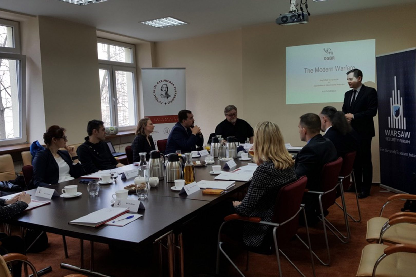 Foreign fighters and threat of using weapons of mass destruction by terrorists: the main points of discussion with Guy Collyer
