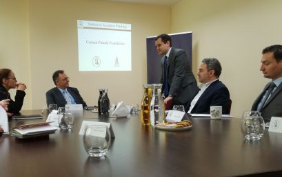 Internatational cooperation in cybersecurity – Roundtable with Iddo Moed, the Director of Cyber Security at the Ministry of Foreign affairs in Israel