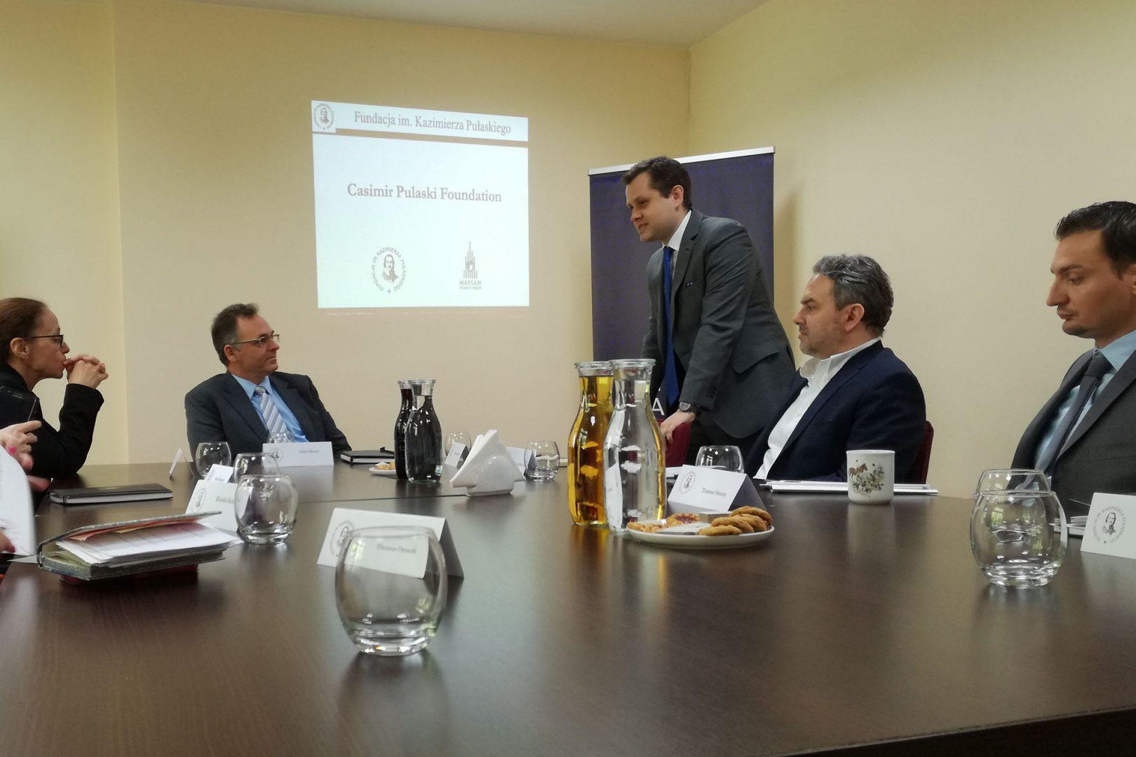 Współpraca międzynarodowe wzakresie cyberbezpieczeństwa – Roundtable zudziałem dyrektora cyberbezpieczeństwa Ministerstwa Spraw Zagranicznych Izraela Iddo Moeda