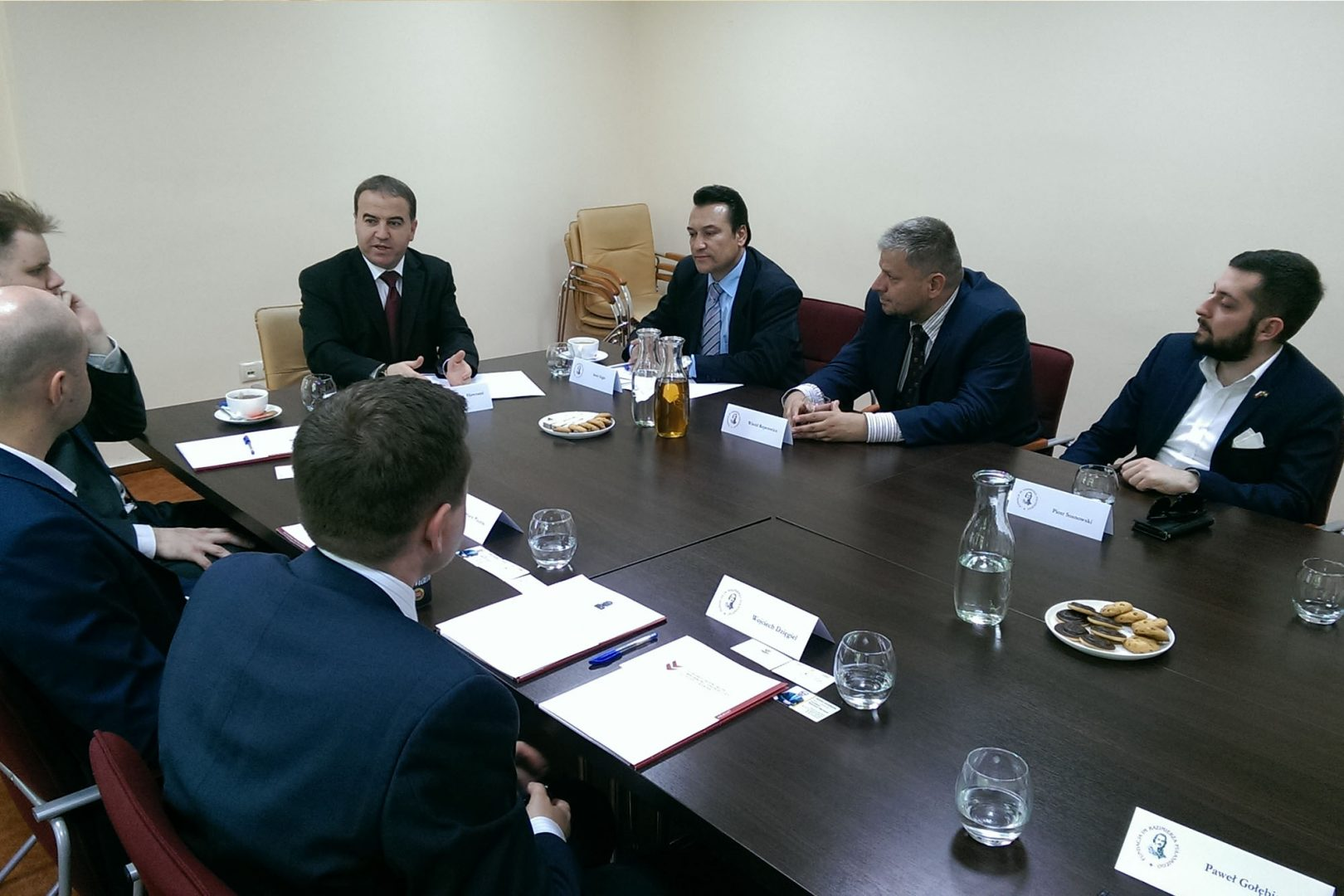 Meeting with Hayman Hawrami, advisor to the President of Kurdistan