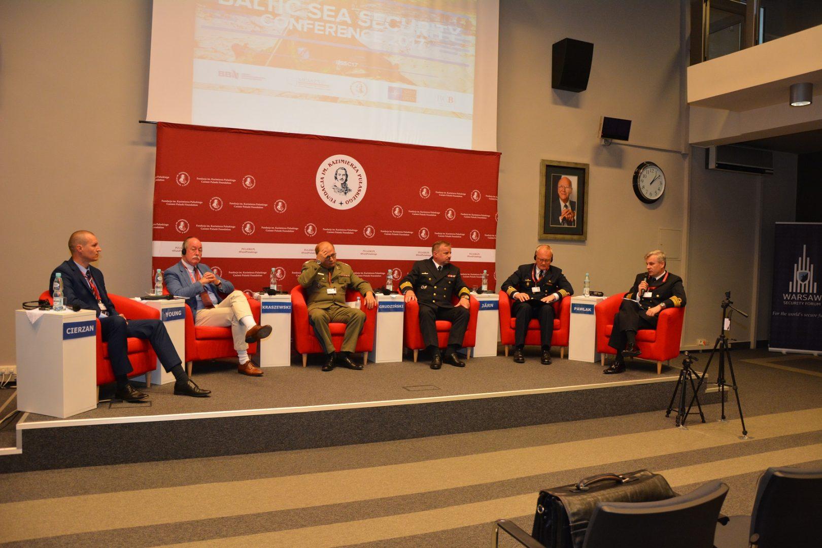 Siły wzmocnienia, wywiad irozpoznanie orazlogistyka powinny być kolejnym krokami wadaptacji NATO dozagrożenia rosyjskiego – wnioski zBaltic Sea Security Conference