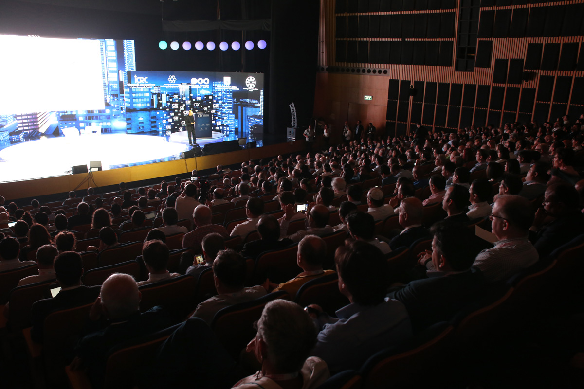 Grzegorz Małecki Director of Economy and Energy Programme attended the CyberWeek Conference