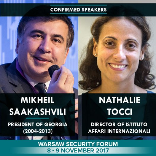 Warsaw Security Forum w dniach 8 – 9 listopada 2017 roku. | #WSF2017