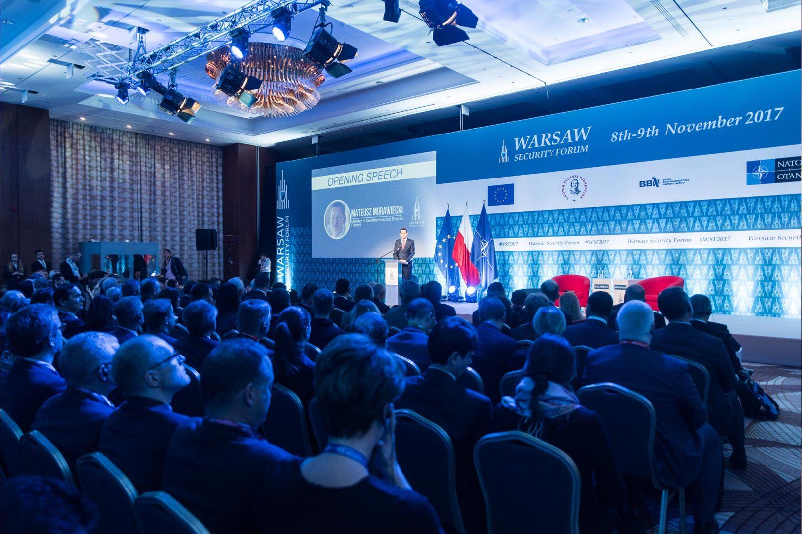 Zakończyła się międzynarodowa konferencja Warsaw Security Forum