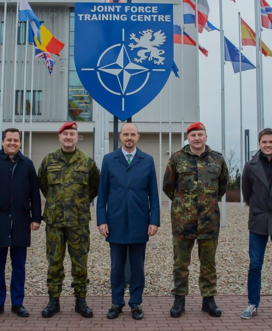 Casimir Pulaski Foundation staff visits the NATO Joint Forces Training Centre in Bydgoszcz, Poland