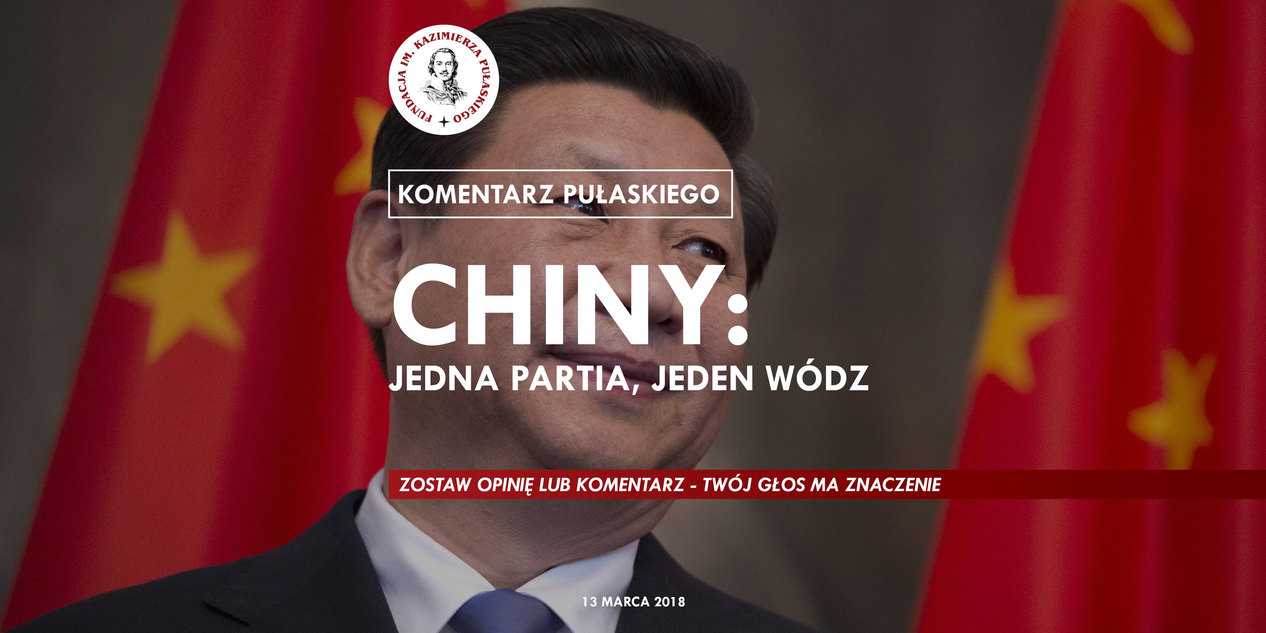 KOMENTARZ PUŁASKIEGO – B.Góralczyk: Chiny: Jedna Partia, Jeden Wódz