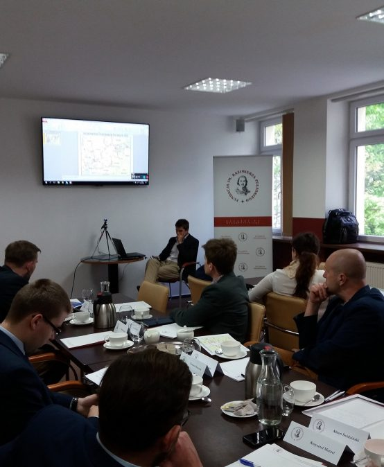 Characteristic of Naval operations in the Baltic Sea and modernisation priorities of the Polish Navy – expert panel held at the Casimir Pulaski Foundation.