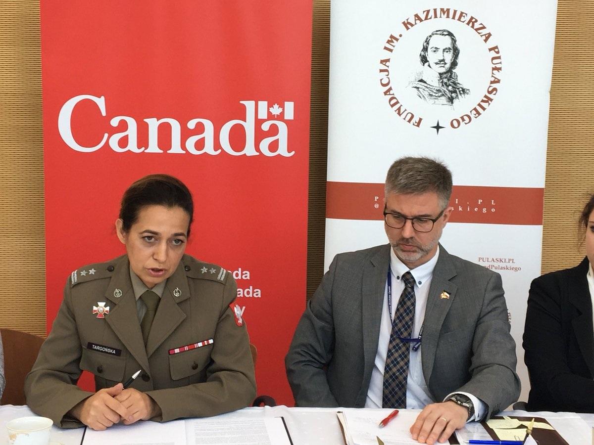 Spotkanie dyplomatyczne WIIS wAmbasadzie Kanady