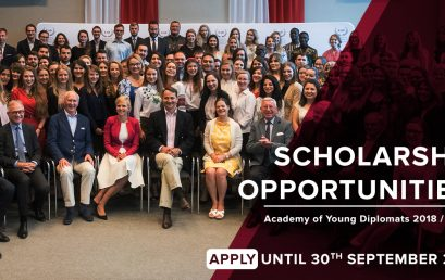 Pulaski Foundation's scholarships for the Academy of Young Diplomats
