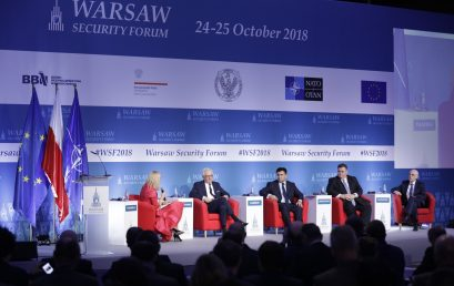 Warsaw is the capital of international security – 2018 Warsaw Security Forum concludes