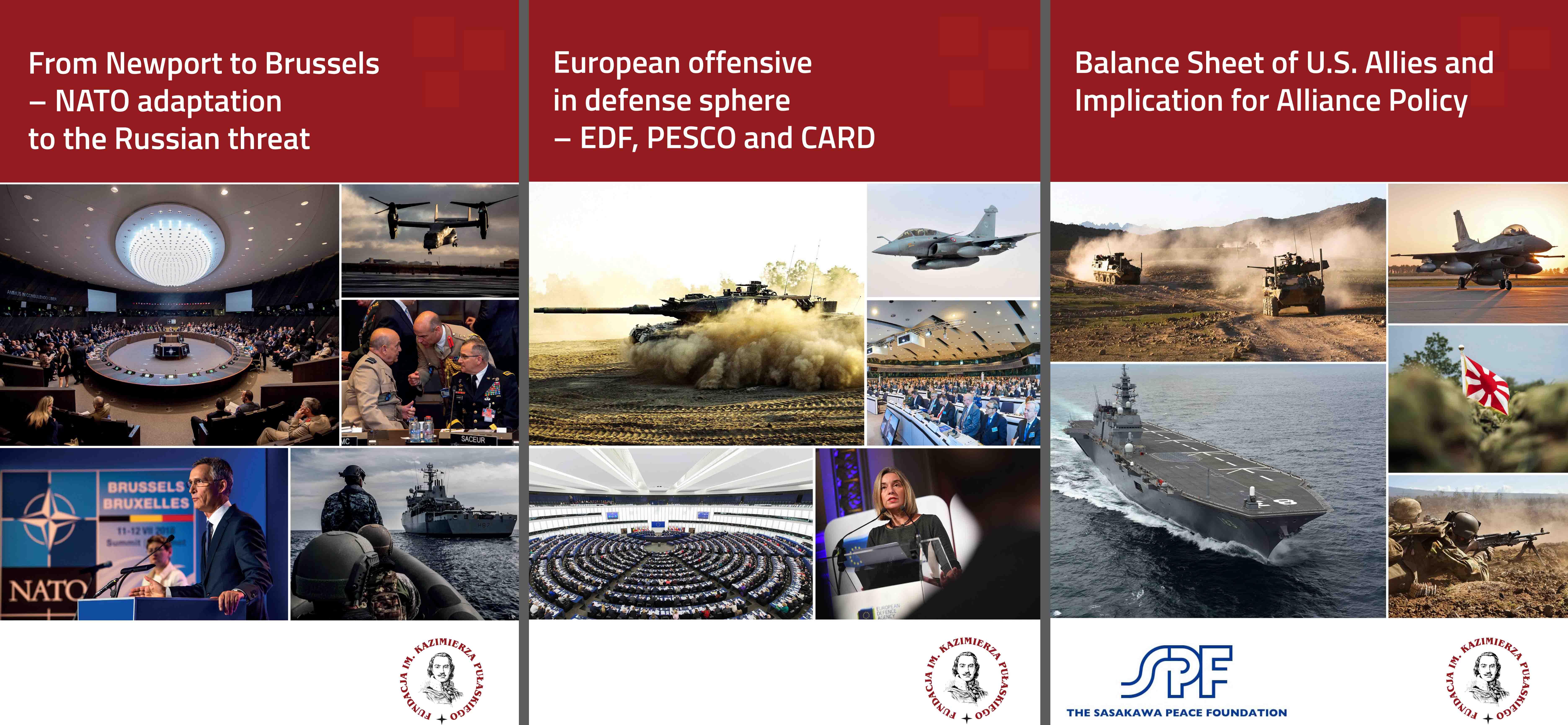 Europejskie programy obronne, adaptacja NATO dozagrożenia rosyjskiego orazanaliza relacji Transatlantyckich wybranych krajów – prezentacja nowych raportów podczas Warsaw Security Forum 2018