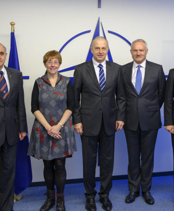 Gen. Fałkowski at the North Atlantic Council and the Defense Reform Advisory Board of Ukraine meeting