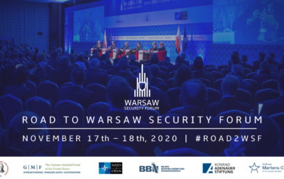 Warsaw Security Forum (#Road2WSF) 17th-18th of November 2020