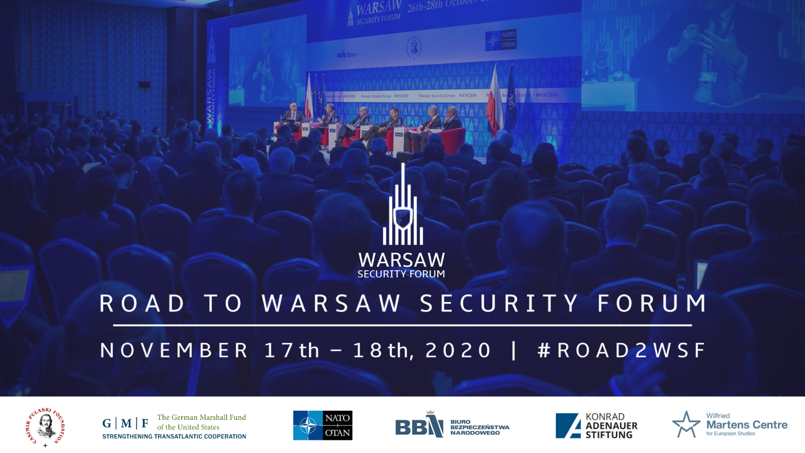 Warsaw Security Forum(#Road2WSF) 17th-18th of November 2020