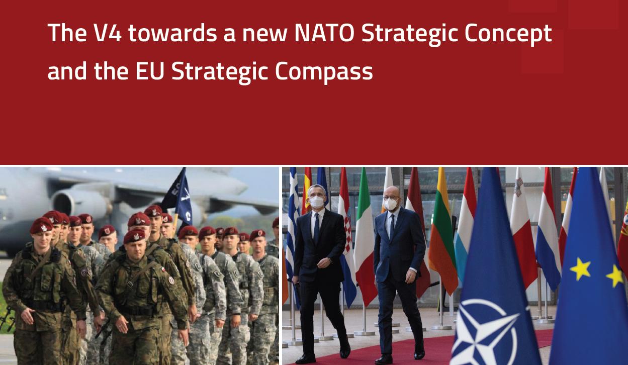 REPORT: The V4 towards a new NATO Strategic Concept and the EU Strategic Compass